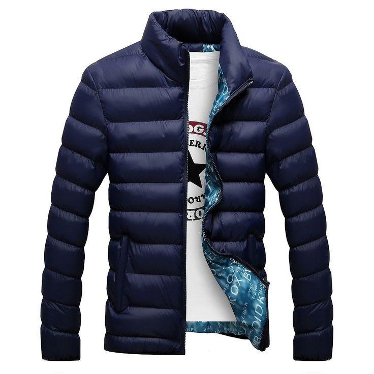 Solid Parkas Winter Jacket (4 colors)