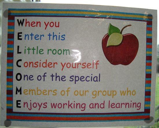Classroom Welcome Design ~ Best teacher welcome signs ideas on pinterest the