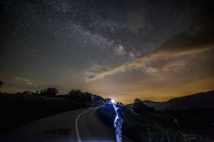 This is the right way! by Constantine Emmanouilidi on 500px  If one is lost, may the stars lead the way!