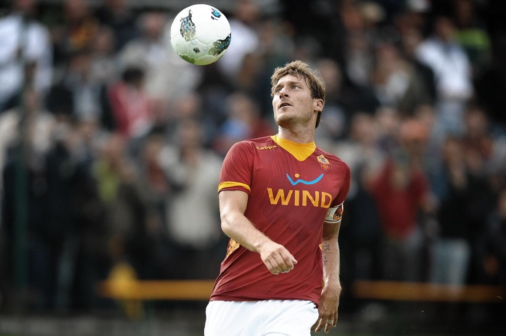 Francesco Totti, er capitano mio. Forza Roma!
