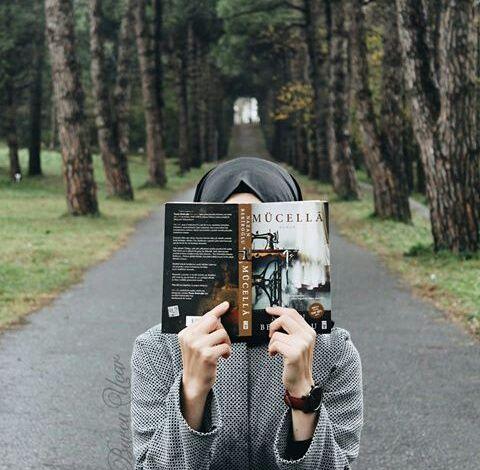 รูปภาพ art, books, and hijab