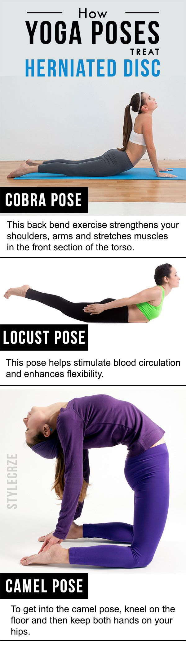 3 Effective Yoga Poses To Treat Herniated Disc | Health ...