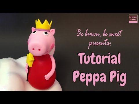 Tutorial Peppa Pig en RKT y fondant - YouTube