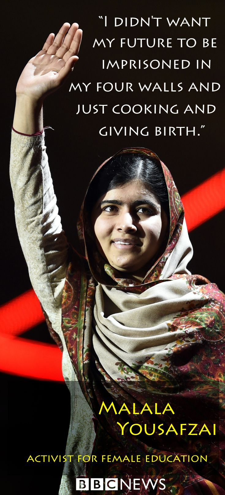 Malala: The girl who was shot for going to school