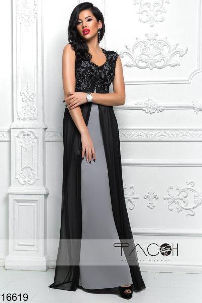 b8fdd3e6899a06a Вечерние платья в интернет магазине Sosiska. Предлагаем Вечернее платье с  гипюром по выгодной цене.