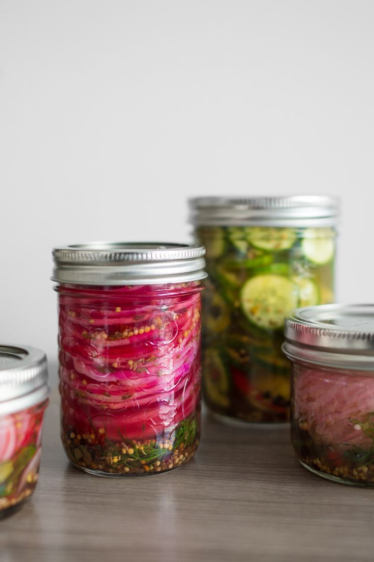 Perfect for sandwiches, adding crunch factor to charcuterie boards or eating them right out of the jar, there's nothing more satisfying than a quick pickle.