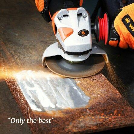 FLEXCUT MILL SCALE  Disco flexível ideal para remoção de carepas, de forma rápida e sem empastamento.