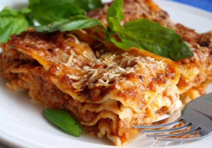 Lasagne podle Nadi