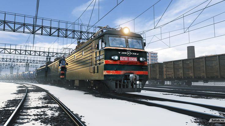3DFAB. Modeling & render train VL11