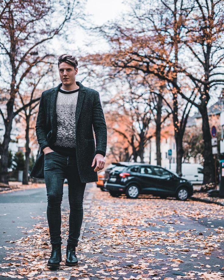 Herbstoutfit für Männer/ Männermantel / Mantel #fashion #mensfashion #menstyle #männermode #mantel