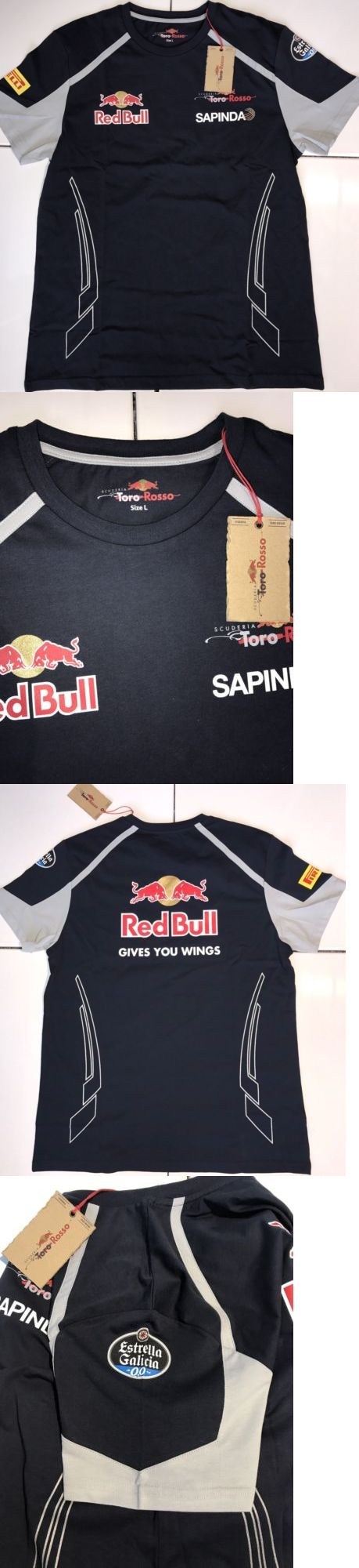 Racing-Formula 1 2876: Nwt Scuderia Toro Rosso Red Bull Racing F1 Team Navy Men S T Shirt Size Large -> BUY IT NOW ONLY: $59.95 on eBay!