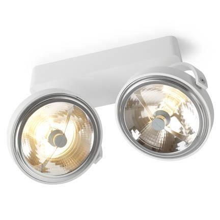 Trizo 21 PIN-UP 2 Spot- & Loftslampe Hvid
