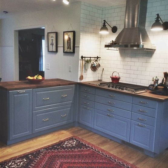 Ikea Kitchen Bodbyn Grey: Victorian House Interiors