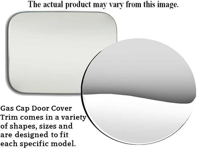 PATHFINDER 2010-2012 NISSAN (1 Pc: Stainless Steel Fuel/Gas Door Cover Accent Trim, 4-door, SUV) GC10527