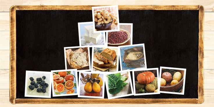 La pirámide vegana: qué, cómo y cuánto comer