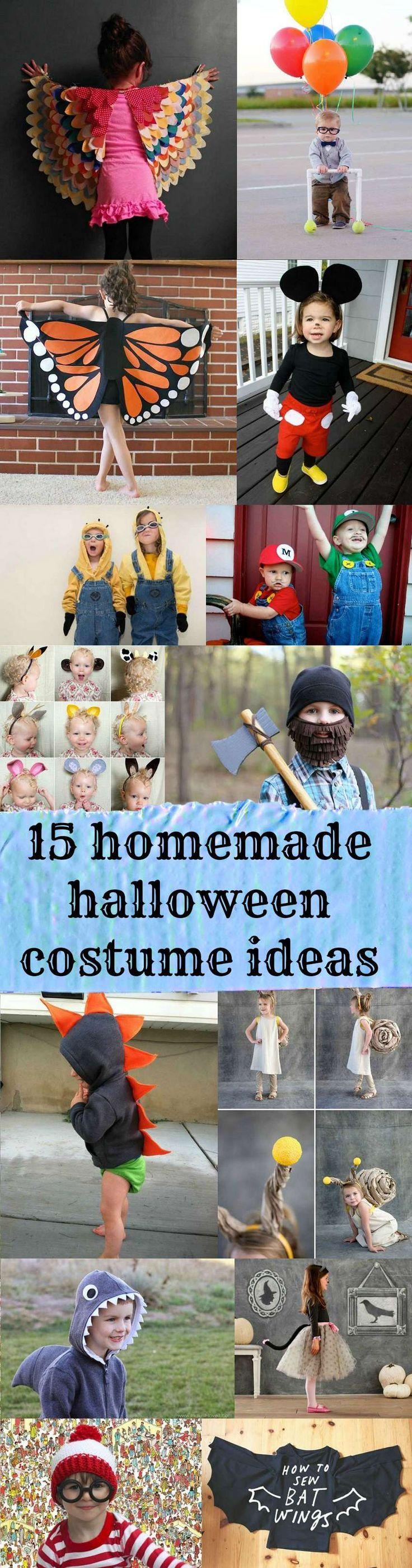 15 easy(ish) homemade Halloween costume ideas for kids!