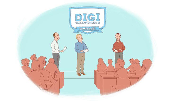 Digivallankumous-seminaari / 5 tärkeintä strategiaa...