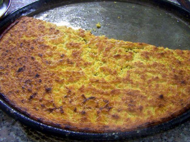Farinata di ceci (chick pea pizza!!!)Love it........
