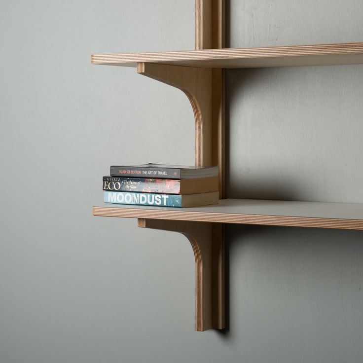 Shoreditch SS.1800 Shelving Unit Unique and clever hang-on-the-wall shelving unit. Made entirely from sustainably sourced Birch plywood finished in natural wax oil. Shelving also available with white laminate and in different sizes. Dimensions: 1800w x 320d x 870h (mm)  Designed, manufactured & hand-finished in our New Zealand workshop from ethically sourced materials. shoreditch.co.nz