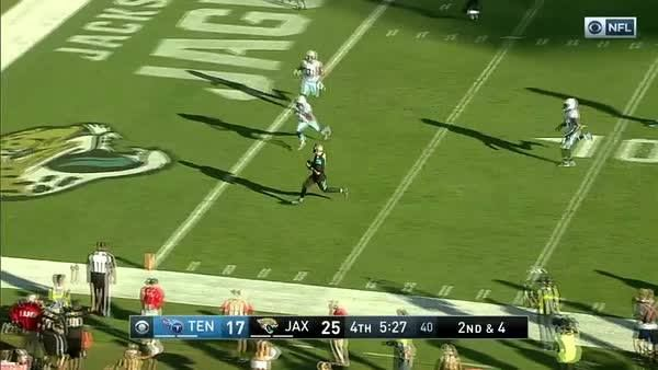 QB: Marqise Lee WR: Blake Bortles Wait, what?  Awesome Jacksonville Jaguars trickeration, that's what. #TENvsJAX