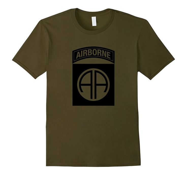 82nd Airborne Division Paratrooper T Shirt