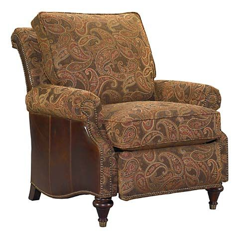 Oxford Recliner Paisley Fabric Fabrics And Recliners