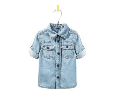 OMG. cuteness : Zara boys denim shirt