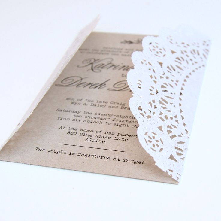 25 Best Ideas About Inexpensive Wedding Invitations On Pinterest