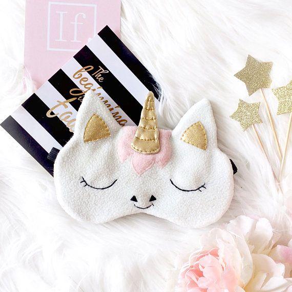 Unicorn sleep mask Eye mask sleep Funny sleep mask Sleep
