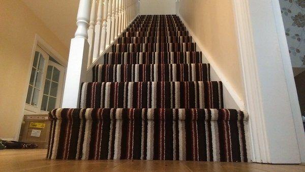 Kingsmead Artwork carpet, fitted by Carpet Style Ltd.