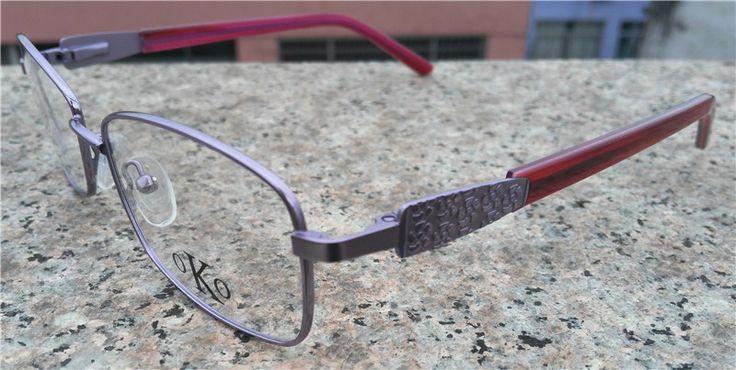 Eyeglasses frame computer glasses alloy fashion big box full frame