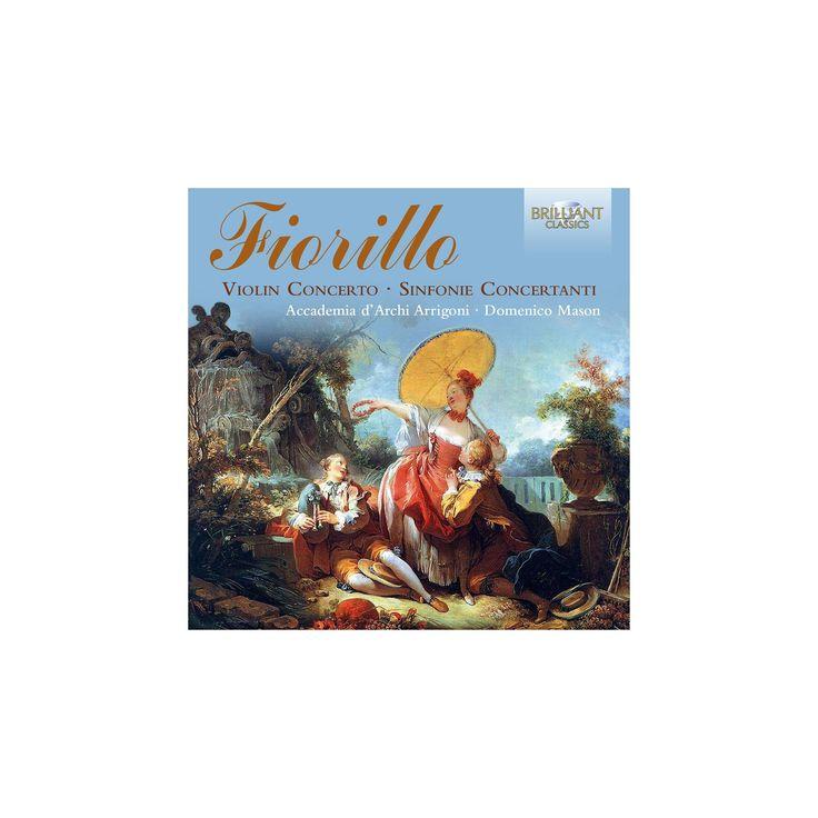 Accademia d'archi ar - Fiorillo:Violin concerto/Sinfonia con (CD)