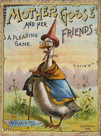 The Game of Mother Goose and Her Friends. New York: McLoughlin Brothers, 1892