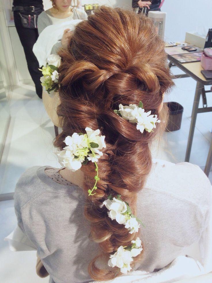 Stylist Directoryに石原 翔子さんが投稿したへアアレンジヘアの作品です。美容師のコメント「髪が長い方にはぜひ挑戦してほしい髪型です!ラプンツェルヘアをリアルな女の子がするとしたら的アレンジです♪」