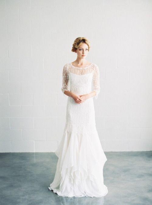 Gorgeous dress, bridal portrait inspiration