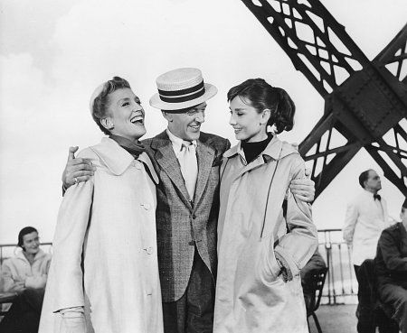 Funny Face quot  Kay Thompson  Fred Astaire  Audrey Hepburn 1956Funny Face Audrey Hepburn Fred Astaire