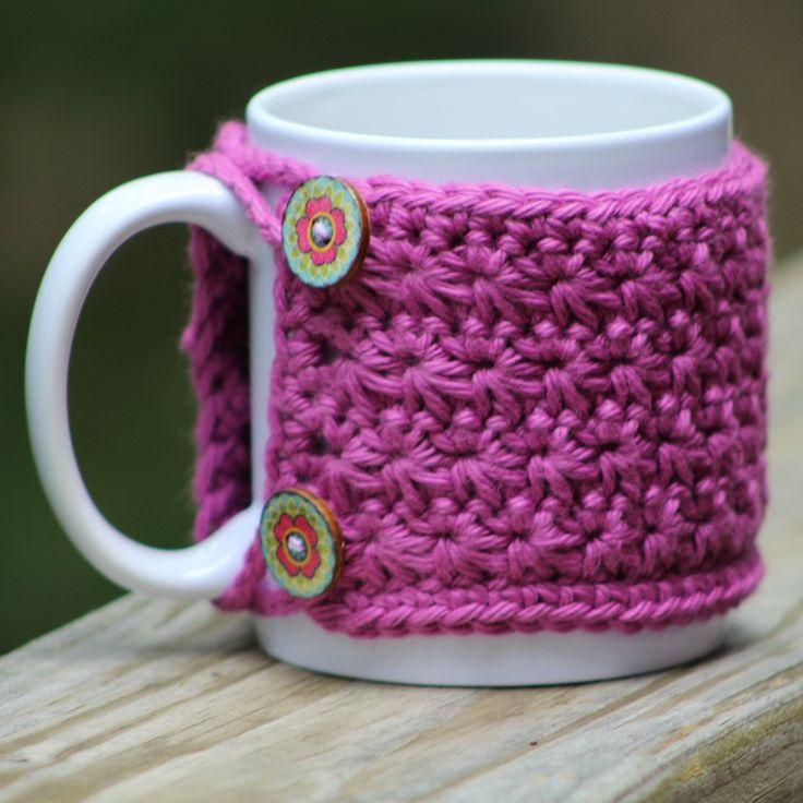 Coffee sleeve mug cozie mug sleeve handmade coffee cozy
