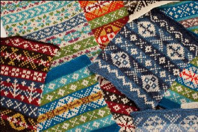 Real Fair Isle patterns and colours - Ralph Lauren eat your heart out.