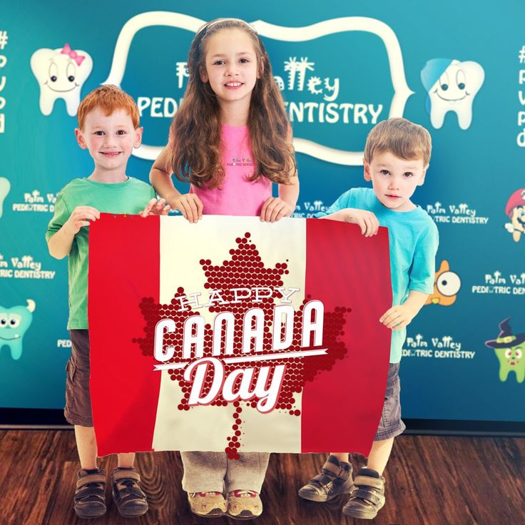 Happy 😊 July 1st, Canada 🇨🇦 Independence Day! FACT OF THE DAY: Canada Day was called Dominion Day until 1982! Do you have any Canadian friends or know any Canada Day traditions?  Palm Valley Pediatric Dentistry No Cavity Club  www.pvpd.com #pvpd #kid #children #baby #smile #dentist #pediatricdentist #goodyear #avondale #surprise #phoenix #litchfieldpark #verrado #dentalcare #pch #nocavityclub #ThursdayThoughts