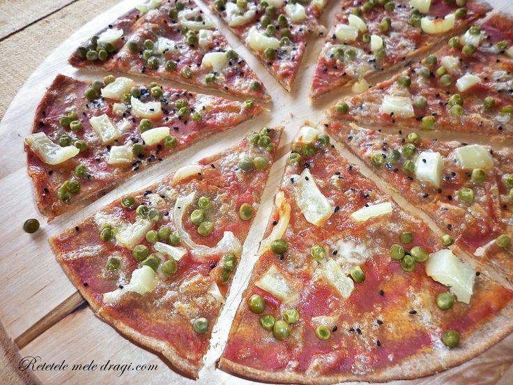 Retetele Mele Dragi Pizza cu legume si seminte de Nigella