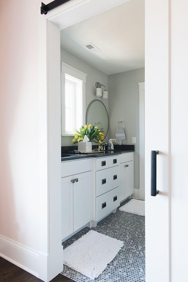 benjamin moore gray owl bathroom paint color best grey paint color rh pinterest com Small Bathroom Paint Color Guide Good Colors for Small Bathroom