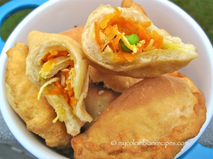 Empanadas de Pollo (Chicken Turnovers) | Recipe | Pollo ...