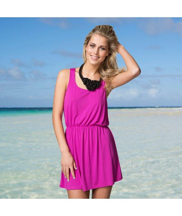 Jurk Braided back dress  #zomercollectie #zomerkledingdames #zomerkleding