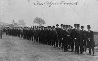Charles Cooper's funeral - 1st man from New Mills to be killed in action in the First World War.