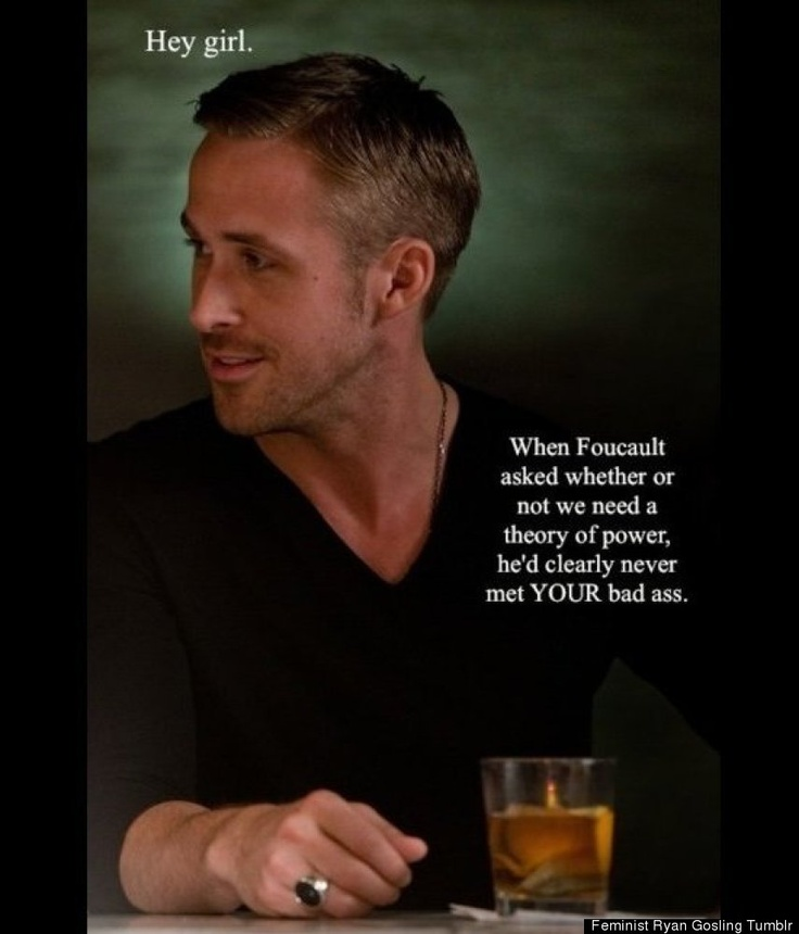 'Feminist Ryan Gosling' Tumblr Is Becoming A Book