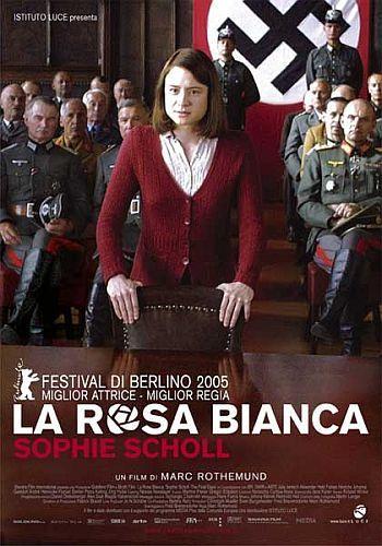 Un film da vedere, anche in previsione del giorno della memoria. See http://www.womeninart.it/larosabianca.htm