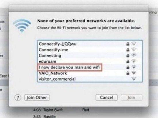 Hilarious Wi-Fi Names - 23 Pics
