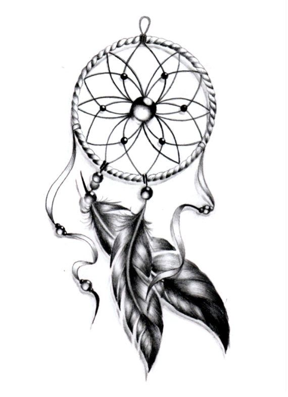 Sets dream catcher temporary tattoos by TattooLifeStyle on Etsy