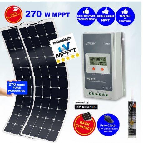 Kit panneau solaire souple MX FLEX SUNPOWER 260W MPPT
