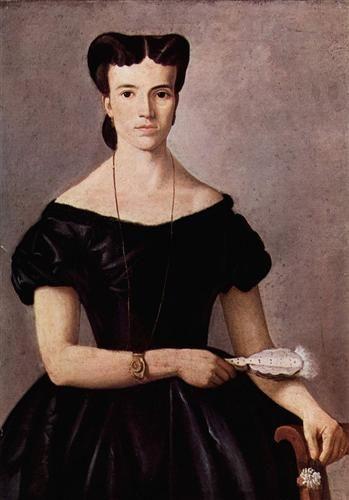 Lady with a Fan - Giovanni Fattori